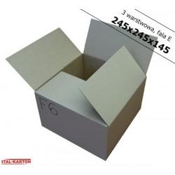 Pudełko fasonowe 245x245x145