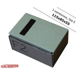 Pudełko fasonowe 115x85x55
